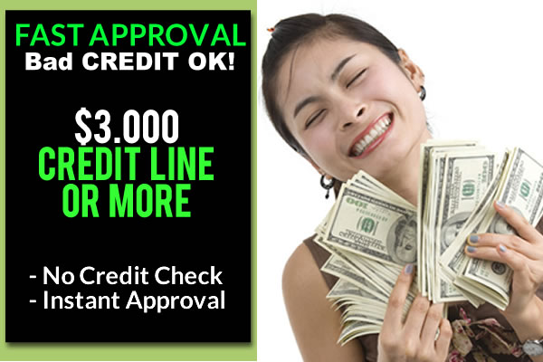 Where to get money fast with bad credit